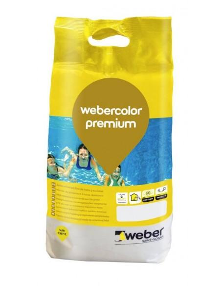 Webercolor premium, bolsa de 5 Kg