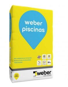 Weber Piscinas, cemento...