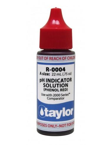 Recambio reactivo pH de Taylor, R-0004