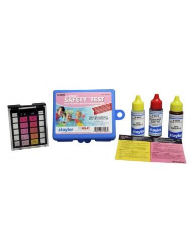 Test de cloro y pH, Taylor K-1001